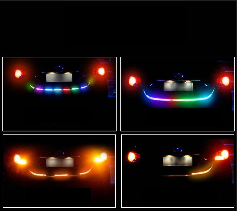 F001 Car Colorful rear lights